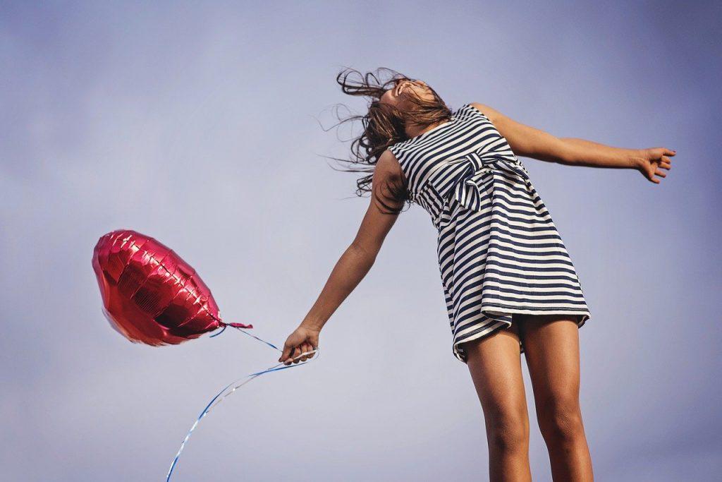 Sei einfach glücklich und zufrieden, dann bist du immer kreativ
